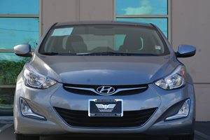 2015 Hyundai Elantra SE Carfax 1-Owner - No AccidentsDamage Reported  Titanium Gray Metallic