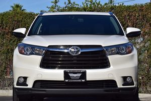 2015 Toyota Highlander XLE Carfax 1-Owner Abs And Driveline Traction Control Airbag Occupancy Se