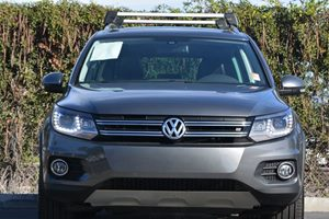 2016 Volkswagen Tiguan 20T SEL Carfax 1-Owner - No AccidentsDamage Reported  Gray 26791 Pe