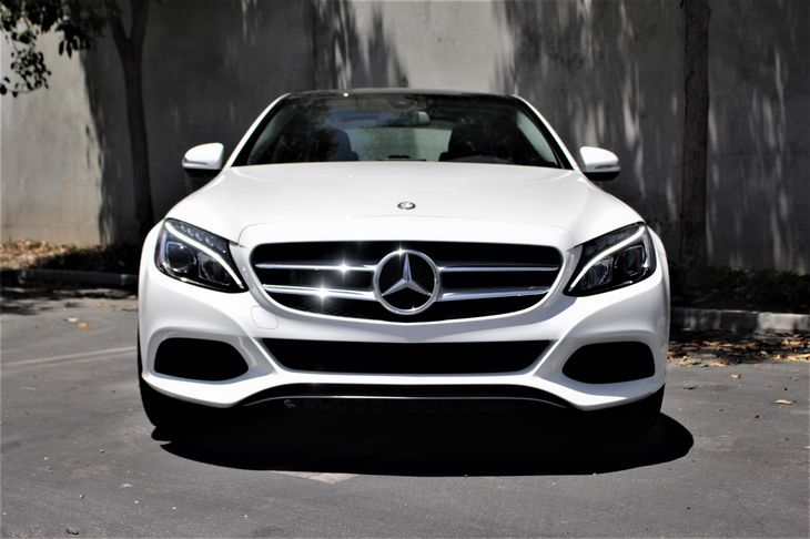 2015 MERCEDES C 300  150 Amp Alternator 307 Axle Ratio Abs And Driveline Traction Control Airb