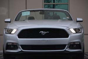 2017 Ford Mustang V6 Carfax 1-Owner - No AccidentsDamage Reported  Ingot Silver Metallic 274