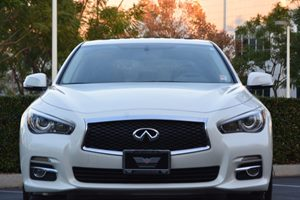 2014 INFINITI Q50 Premium Carfax 1-Owner - No AccidentsDamage Reported  Moonlight White 280