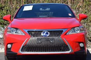 2015 Lexus CT 200h F-SPORT 327 Axle Ratio Abs And Driveline Traction Control Airbag Occupancy S