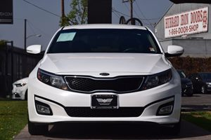 2015 Kia Optima LX  Snow White Pearl 16398 Per Month -ON APPROVED CREDIT ---  See our ent