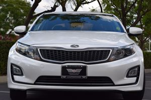 2014 Kia Optima Hybrid LX Carfax 1-Owner - No AccidentsDamage Reported  Snow White Pearl 176
