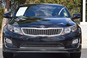 2014 Kia Optima Hybrid LX Carfax 1-Owner - No AccidentsDamage Reported  Aurora Black Pearl 1