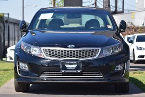2014 Kia Optima Hybrid EX Carfax 1-Owner - No AccidentsDamage Reported  Aurora Black Pearl 1