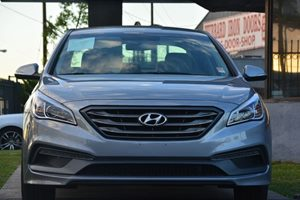 2015 Hyundai Sonata Sport Carfax 1-Owner - No AccidentsDamage Reported  Shale Gray Metallic