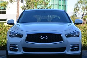 2015 INFINITI Q50 Premium Carfax 1-Owner - No AccidentsDamage Reported  Moonlight White  294