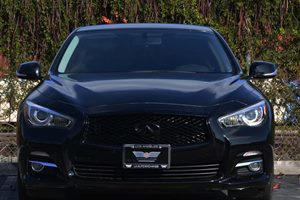 2015 INFINITI Q50  Carfax 1-Owner  Black 2874 Per Month -ON APPROVED CREDIT---  ---