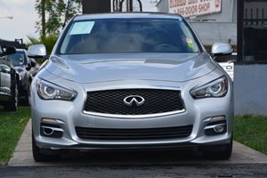 2014 INFINITI Q50 Premium  Silver 2874 Per Month -ON APPROVED CREDIT---  ---  See our