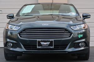 2015 Ford Fusion Energi Titanium Carfax 1-Owner - No AccidentsDamage Reported  Gray  22894