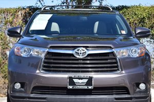 2015 Toyota Highlander XLE Carfax 1-Owner - No AccidentsDamage Reported  Predawn Gray Mica 3
