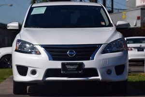 2015 Nissan Sentra SR Carfax 1-Owner - No AccidentsDamage Reported  Aspen White 16314 Per M