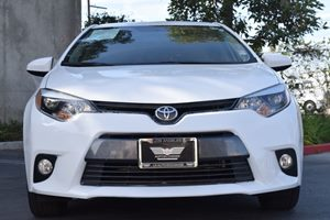 2015 Toyota Corolla LE Plus  Super White  We are not responsible for typographical errors All