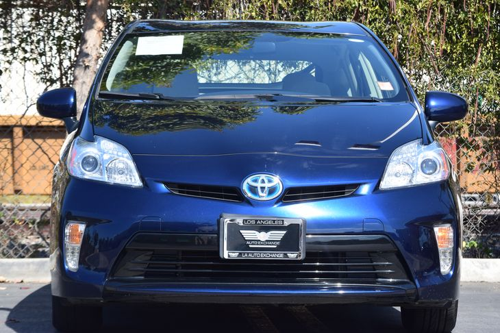 2015 Toyota Prius Two  Nautical Blue Metallic  All advertised prices exclude government fees a