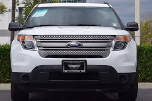 2015 Ford Explorer Base Carfax 1-Owner - No AccidentsDamage Reported  Oxford White 24193 Pe