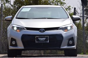 2015 Toyota Corolla S  Classic Silver Metallic 18347 Per Month -ON APPROVED CREDIT---  -