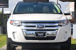 2014 Ford Edge Limited Carfax 1-Owner - No AccidentsDamage Reported  White Platinum Metallic T