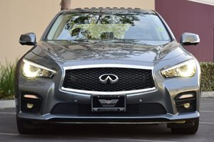 2014 INFINITI Q50 Sport Carfax 1-Owner - No AccidentsDamage Reported  Gray  34492 Per Month