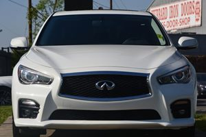2014 INFINITI Q50 Base Carfax 1-Owner - No AccidentsDamage Reported  Moonlight White ---