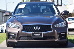 2015 INFINITI Q50 Sport Carfax 1-Owner - No AccidentsDamage Reported  BROWN 34492 Per Month