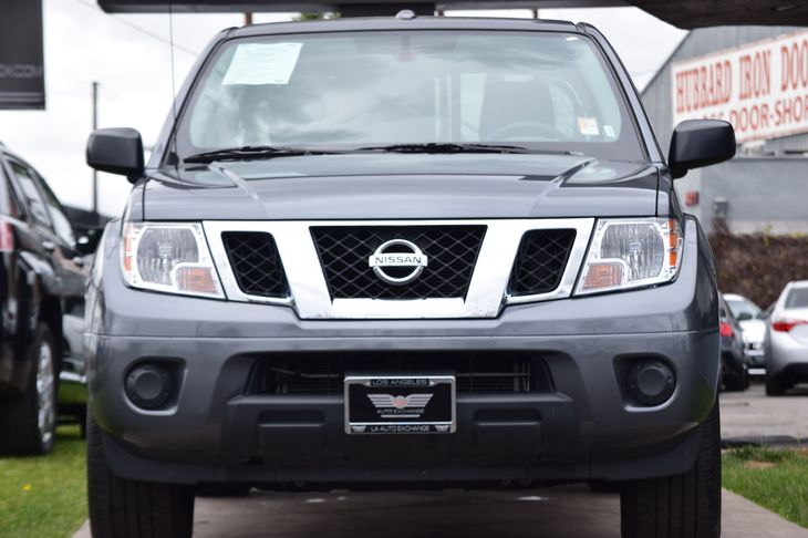 2017 Nissan Frontier SV  Gray All advertised prices exclude government fees and taxes any fina