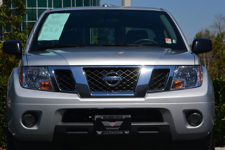 2017 Nissan Frontier SV  Brilliant Silver All advertised prices exclude government fees and tax