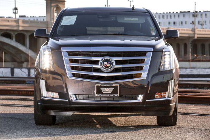 2015 Cadillac Escalade ESV Premium Active Noise Cancellation Adaptive Remote Start Air Condition