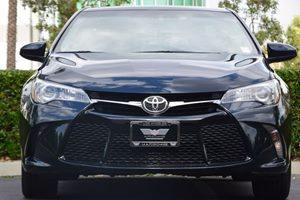 2016 Toyota Camry SE Carfax 1-Owner  Blue Crush Metallic 20945 Per Month -ON APPROVED CREDIT