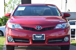 2014 Toyota Camry SE Carfax Report - No AccidentsDamage Reported  Barcelona Red Metallic 176