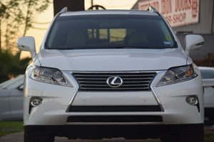 2015 Lexus RX 350 Base Carfax 1-Owner  White 35756 Per Month -ON APPROVED CREDIT--- --