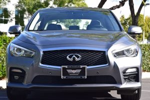 2015 INFINITI Q50 Sport Carfax 1-Owner - No AccidentsDamage Reported  Gray 29436 Per Month