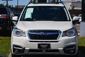 2017 Subaru Forester 25i Limited Carfax 1-Owner  Crystal White Pearl 35756 Per Month -ON AP