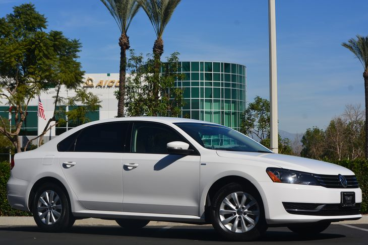 2015 Volkswagen Passat S PZEV  Candy White  All advertised prices exclude government fees and
