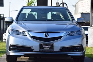 2015 Acura TLX V6 wTech Carfax 1-Owner - No AccidentsDamage Reported  Slate Silver Metallic