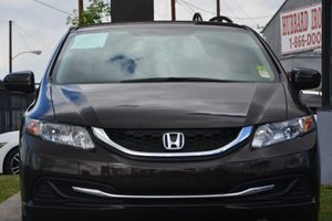 2014 Honda Civic Sedan LX Carfax 1-Owner - No AccidentsDamage Reported  Brown 16398 Per Mon