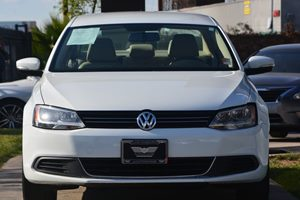 2014 Volkswagen Jetta Sedan SE PZEV Carfax Report - No AccidentsDamage Reported  White 1491