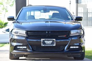 2017 Dodge Charger SXT Carfax 1-Owner  Pitch Black Clearcoat 25492 Per Month -ON APPROVED CR