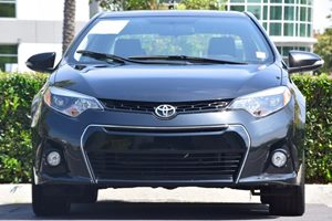 2015 Toyota Corolla S Plus  Black Sand Mica 17697 Per Month -ON APPROVED CREDIT---  ---