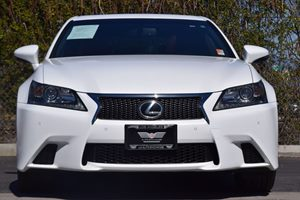 2015 Lexus GS 350 F-Sport Carfax 1-Owner - No AccidentsDamage Reported  Ultra White 36388 P