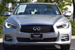 2014 INFINITI Q50 Premium Carfax 1-Owner - No AccidentsDamage Reported  Silver 25492 Per Mo
