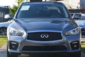 2015 INFINITI Q50 Sport Carfax 1-Owner - No AccidentsDamage Reported  Gray 32596 Per Month
