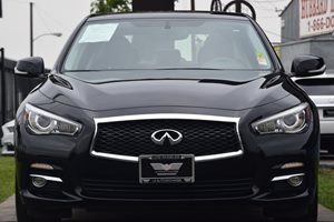 2014 INFINITI Q50 Premium Carfax 1-Owner - No AccidentsDamage Reported  Black 2874 Per Mont