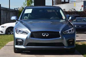 2015 INFINITI Q50  Carfax 1-Owner - No AccidentsDamage Reported  Hagane Blue 307 Per Month -