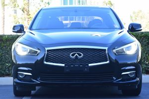 2015 INFINITI Q50  Carfax 1-Owner - No AccidentsDamage Reported  Black 24842 Per Month -ON