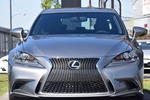 2015 Lexus IS 250 F-Sport Carfax 1-Owner - No AccidentsDamage Reported  Silver 32596 Per Mo