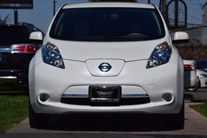 2012 Nissan LEAF SL  White 12103 Per Month -ON APPROVED CREDIT--- ---  See our entire