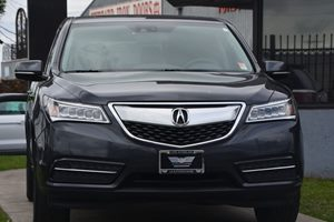 2015 Acura MDX wTech Carfax 1-Owner - No AccidentsDamage Reported  Gray 35756 Per Month -O