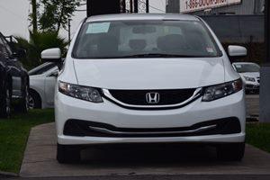 2015 Honda Civic Sedan LX  Taffeta White 17697 Per Month -ON APPROVED CREDIT---  ---
